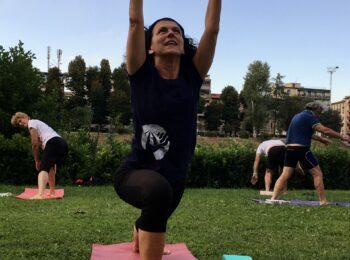 Yoga alla Canottieri Comunali Firenze